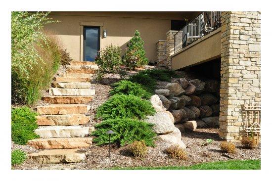 Landscaping Boulders Mn : Standard galleries grading hydroseed landscape deisgn landscaping