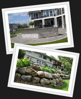 Landscaping Services Paver Patios Hydroseed Retaining Walls